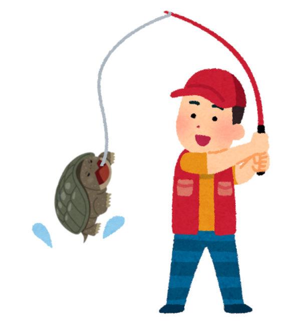 「亀 釣り いらすとや」の画像検索結果