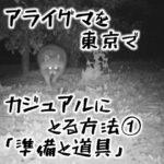 アライグマを東京でカジュアルにとる方法① 狩猟の準備と道具